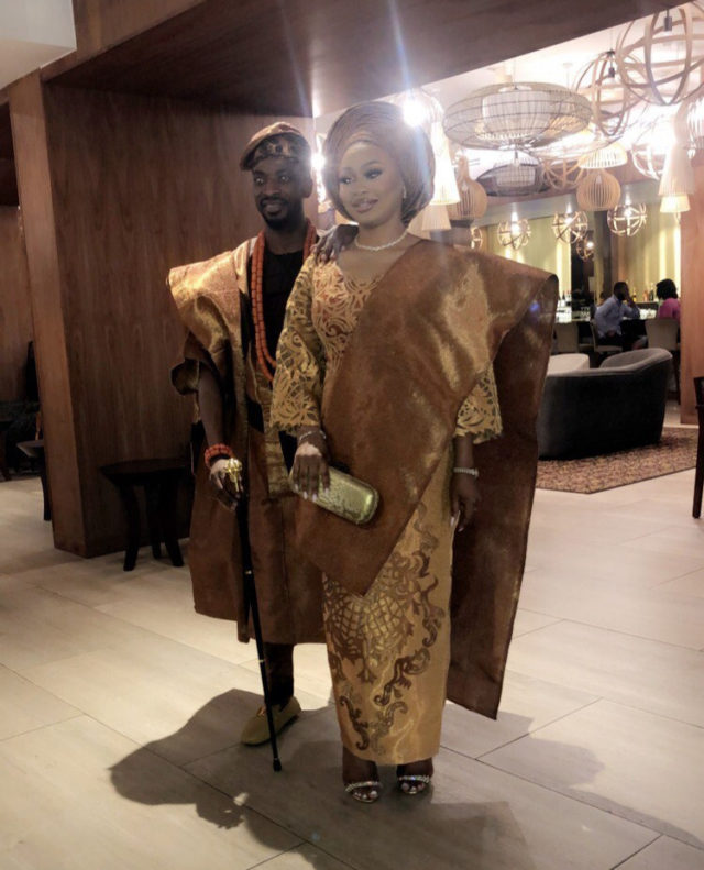 9ice finally weds his babymama