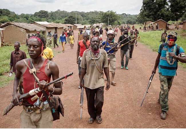 Fight between militiamen and traders in Central African Republic