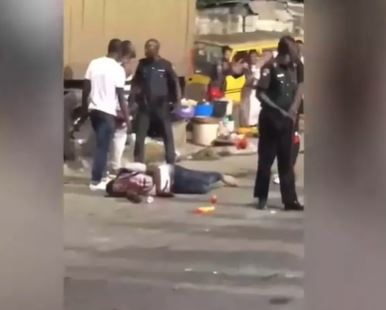 Nigerian man shot by police officer