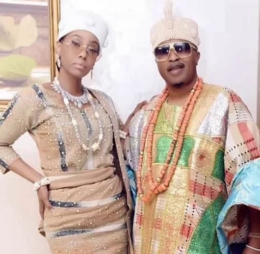 King Oluwo of Iwo and estranged wife, Chanel