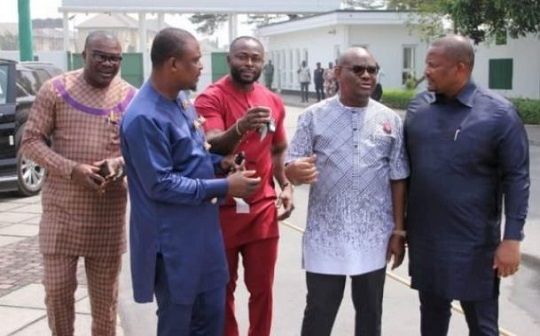 Governor Wike and some Rivers lawmakers