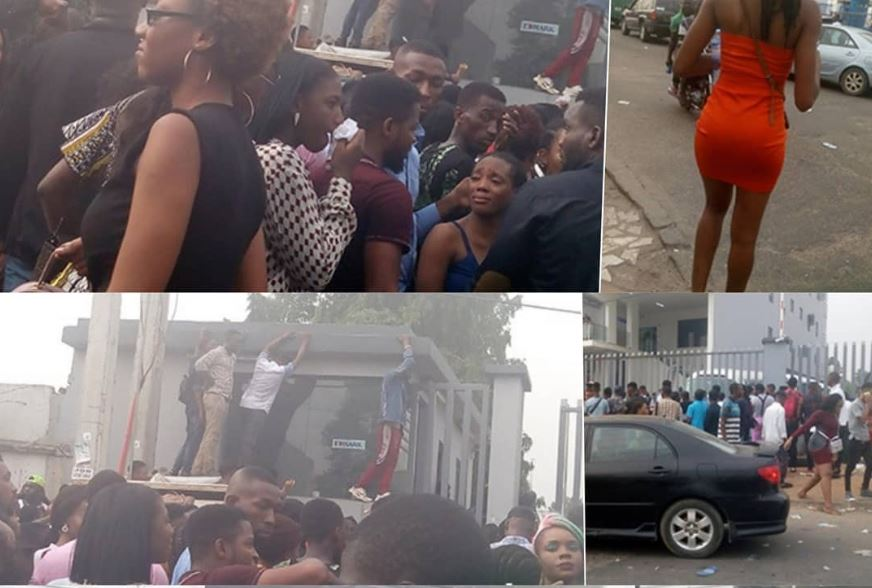 Several People Faint During BBNaija Audition Across Nigeria
