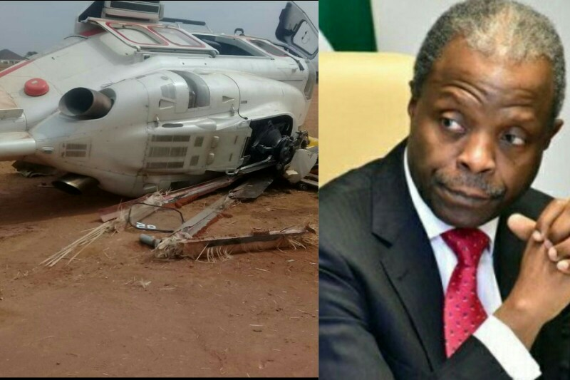 Presidency Reveals Why VP Osinbajo Flew In A Chartered Helicopter Before Crash