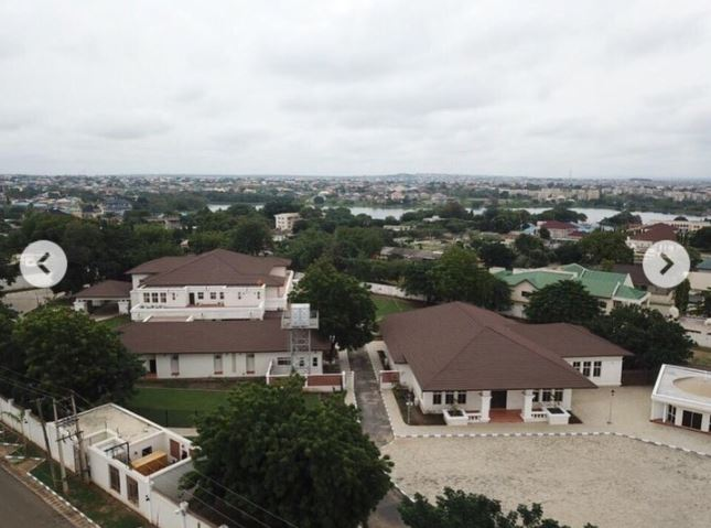 Photos Of Bukola Saraki's Beautiful Mansion In Ilorin