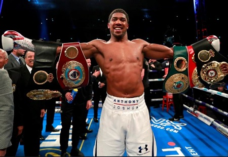 Anthony Joshua Set For US Debut To Fight Against Jarrell Miller