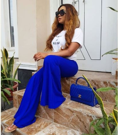 Nollywood Act, Rachel Okonkwo Steps Out In Glamorous Jumpsuit (photos)