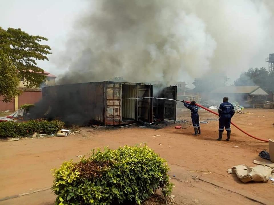 INEC Card Readers Gutted By Fire As Officials Flee In Anambra