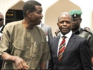 Osinbajo Reveals What Pastor Adeboye Told Him Before Presidential Election