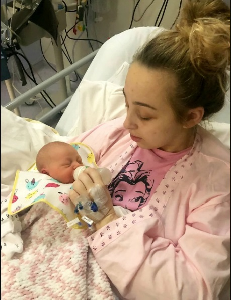 Girl Who Didn't Know She Was Pregnant Fell Into Coma And Woke Up With A Baby