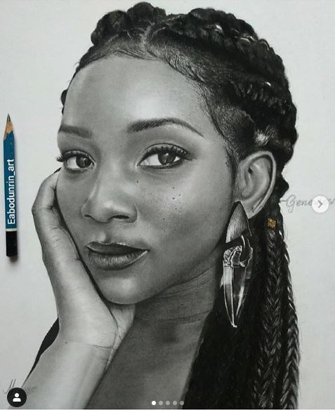 Viral News Updates: Paper And Pencil Artwork Of Genevieve Nnaji Goes Viral