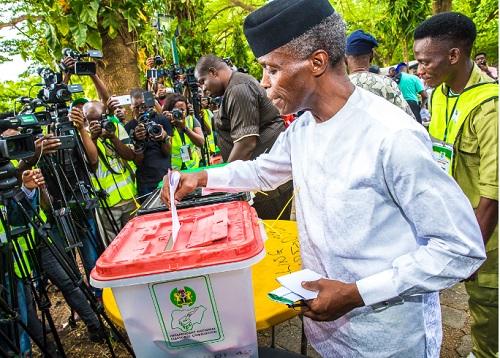 #AtikuIsWining: Atiku Wins Osinbajo's Polling Unit In Lagos
