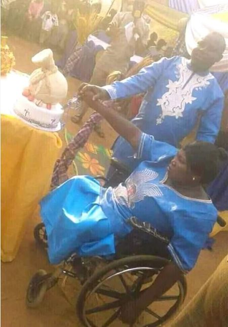 Man Weds A Crippled Lady In Wheelchair