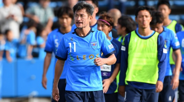 , 51-Year-Old World Oldest Footballer, Kazuyoshi Miura, Extends His Contract, No. 1 Information Arena