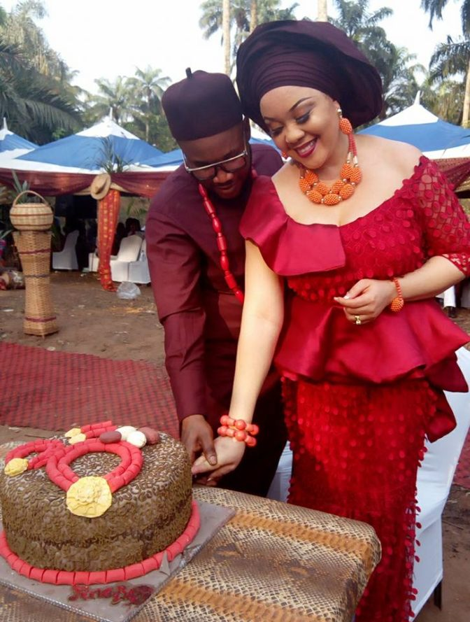 Nnamdi Kanu's Brother Marries His Beautiful Bride Who Is Also An IPOB Member