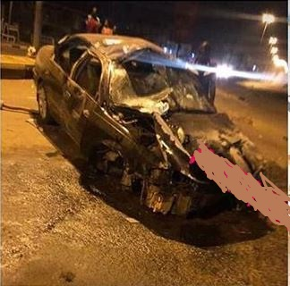 Image result for Two students die in car crash while returning from nightclub