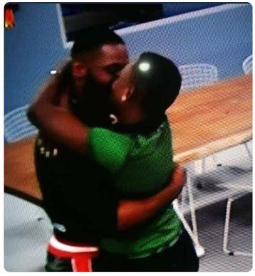 frrr1 - 2019 BBNaija: Two Housemates Caught Kissing Passionately (See Photo)