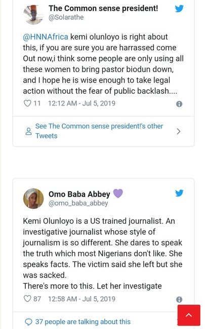 Identity Of COZA Pastor's Latest Accuser Exposed By Investigative Journalist (Images)