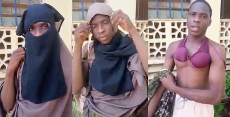 Man Caught Dressed In Hijab To Enter Female Hostel Of Federal College Of Education, Kano (Photos)