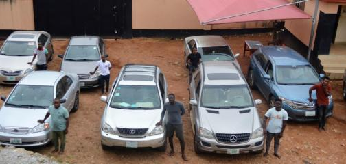 Exotic Cars And House Recovered From 30 Suspected Yahoo Boys In Ado-Ekiti (Photos)