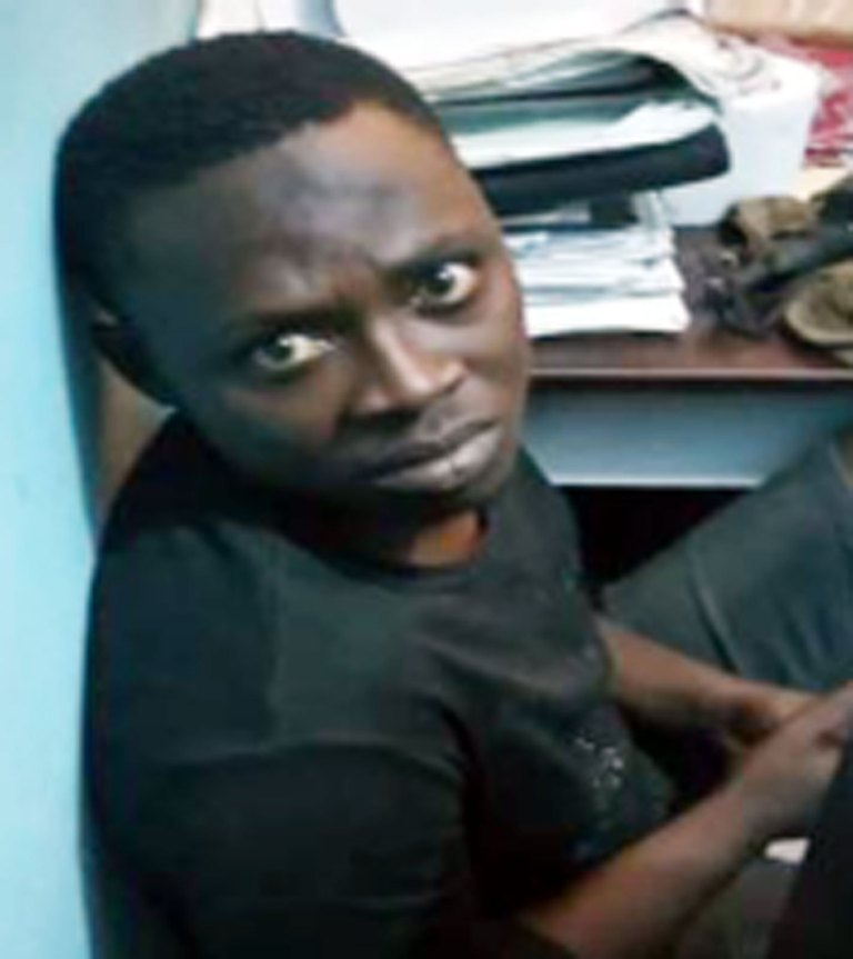 Busted! See The Suspected Serial Bank Accounts Hacker Who Was Nabbed In Lagos