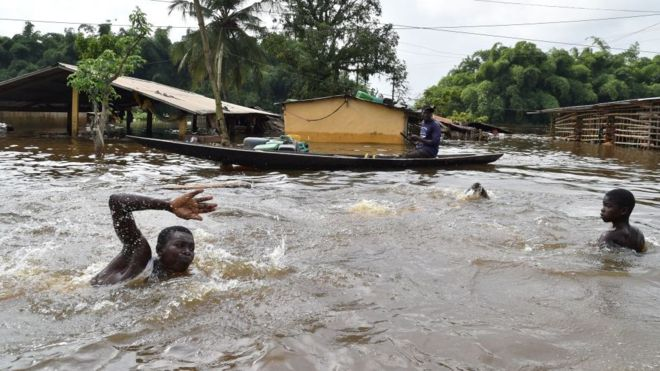 Horror! How Raging Flood Swept Away Pregnant Woman, Two Others In Plateau