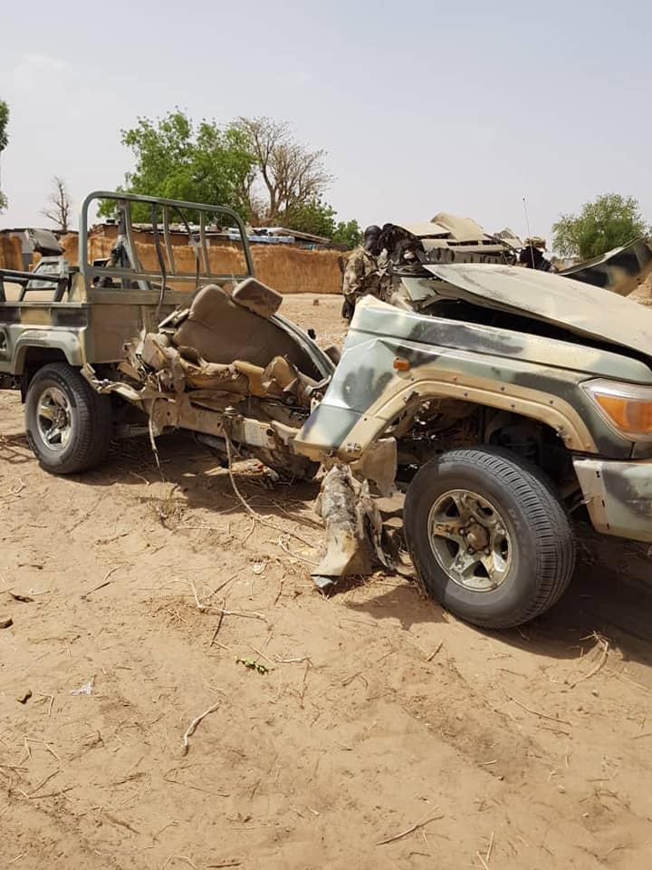 Nigerian Army Mourns Colonel, Captain & Others Killed In Boko Haram Ambush