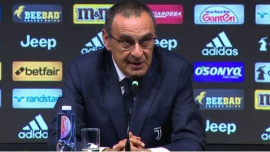 Juventus vs Inter Milan: Sarri Speaks On Poor Display