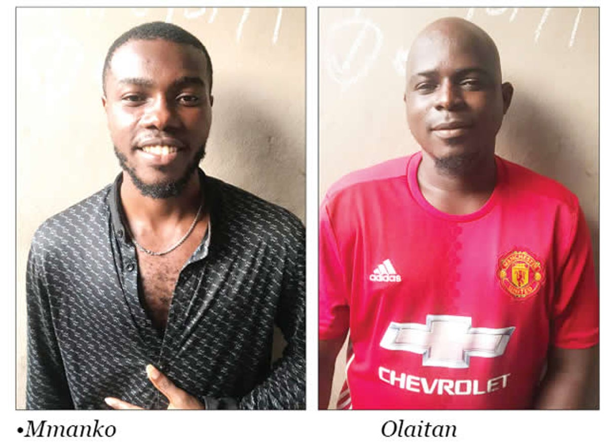 Two friends  faces Who Were Killed By Cultists In Lagos
