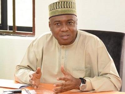 Saraki Reacts To Emergence Of Lawan As Senate President