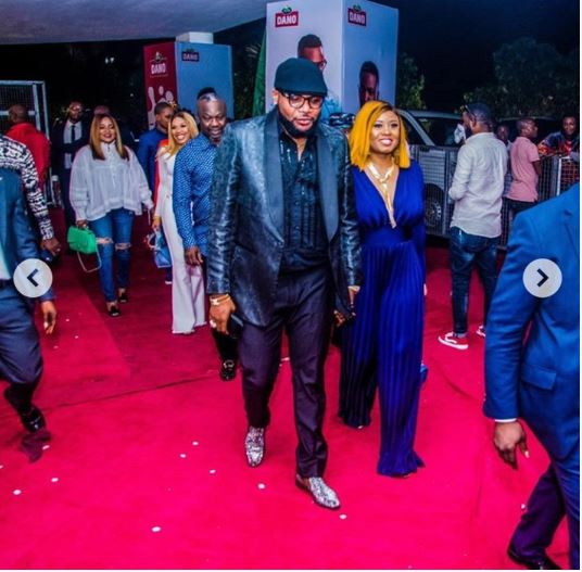 E-money And Wife, Juliet, Make Grand Entry To Public Event (Photos)