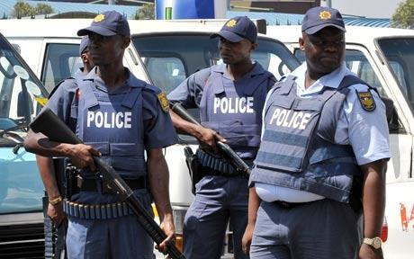 South African Policemen 'Torture Nigerian To Death'