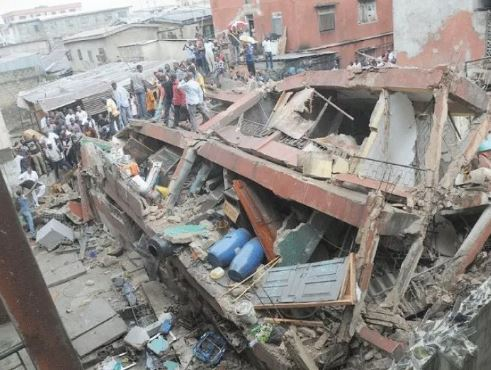 Collapsed Wall Crushes Labourer To Death During Renovation In Lagos