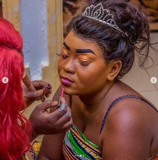 Horror: See Make-Up Pictures That Has Got People Laughing And Rolling On The Floor 4