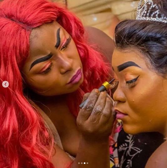 Horror: See Make-Up Pictures That Has Got People Laughing And Rolling On The Floor 5