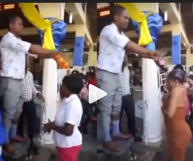 Video of Pastor Baptizing Church Members With Coca-Cola And Fanta