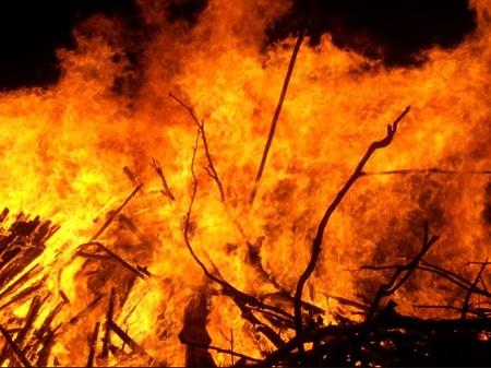 Suspected Political Thugs Set INEC Office Ablaze In Ebonyi