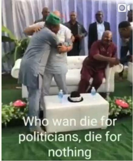 Emeka Ihedioha & Hope Uzodinma Throw A Party After Ending Okorocha's Dynasty