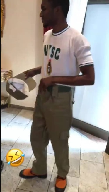 Buhari's Son, Yusuf Shows Off His NYSC Discharge Certificate After Completing Service (Photos)