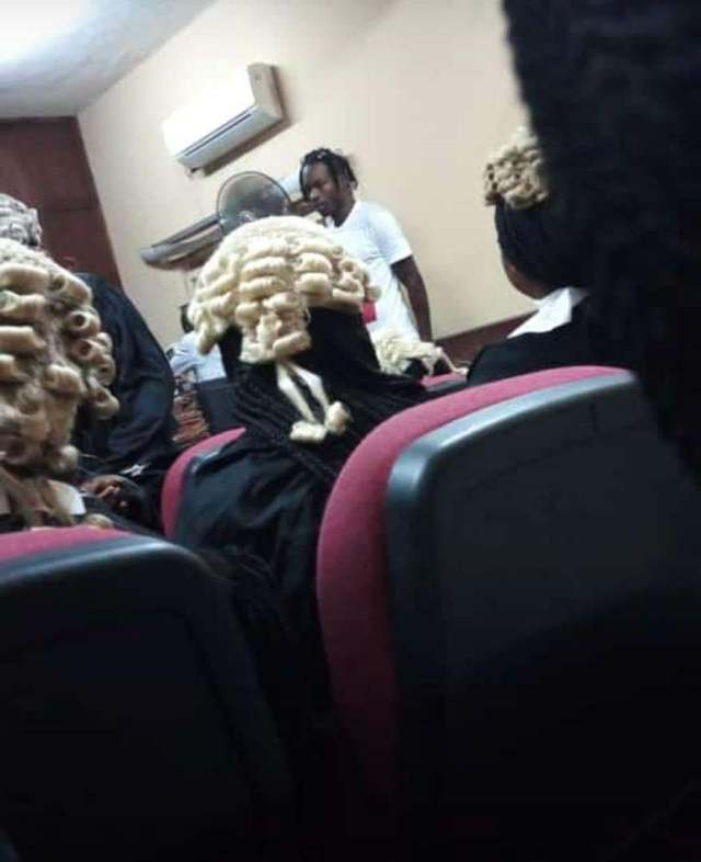 Naira Marley Looks Humble As He Appears In Court, Mother Breaks Down In Tears After Seeing Him (Photos)