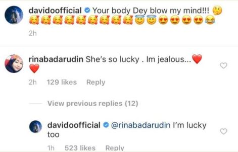 Your Body Dey Blow My Mind - Davido Shares Chioma's New Picture