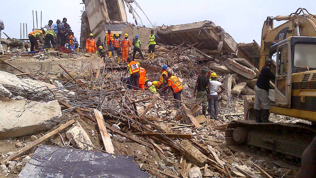 building collapses in Ikoyi
