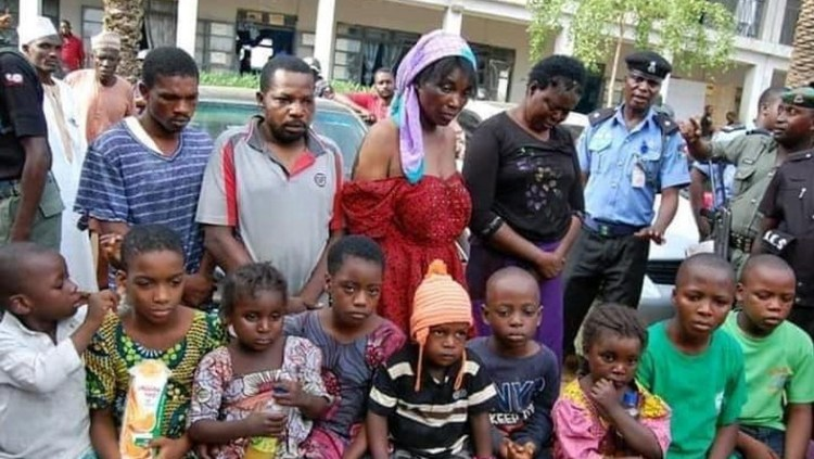 Abducted children rescued in Onitsha