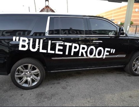 File photo: Bulletproof SUV