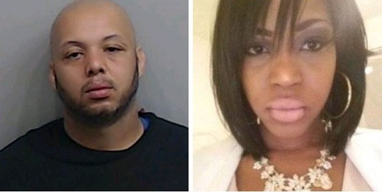 Antonio Wilson (left) is charged with the murder of Fabiola Thomas (right)