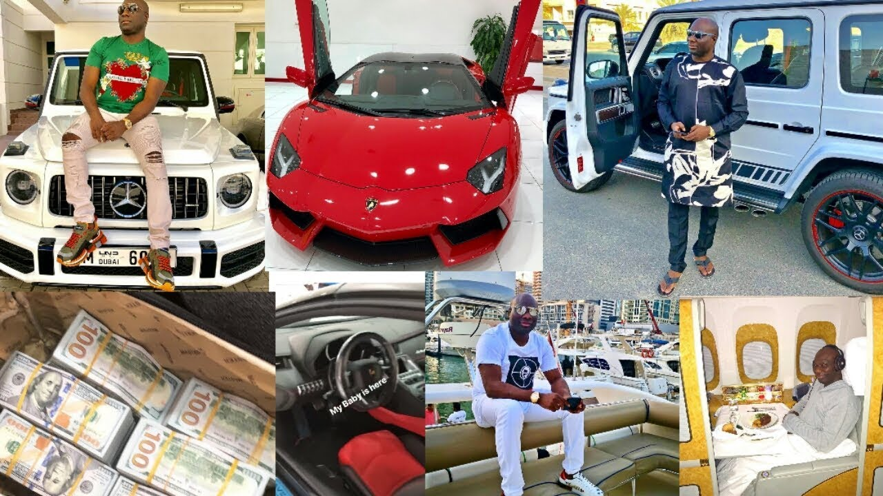Ismaila Mustapha aka Mompha shows off his wealth
