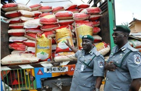 rice, Nigeria Customs Service