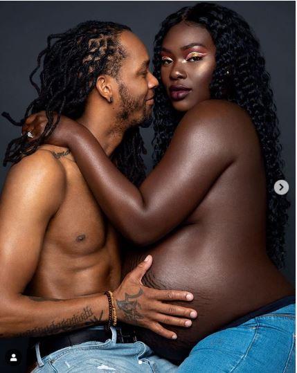 Christina Temitope Abiola and her husband