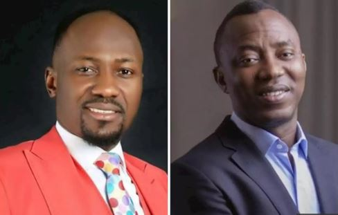Apostle Johnson Suleman and Omoyele Sowore