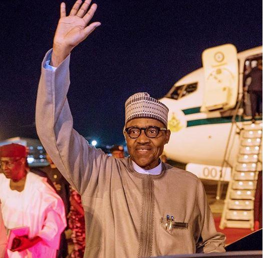 Buhari's travels