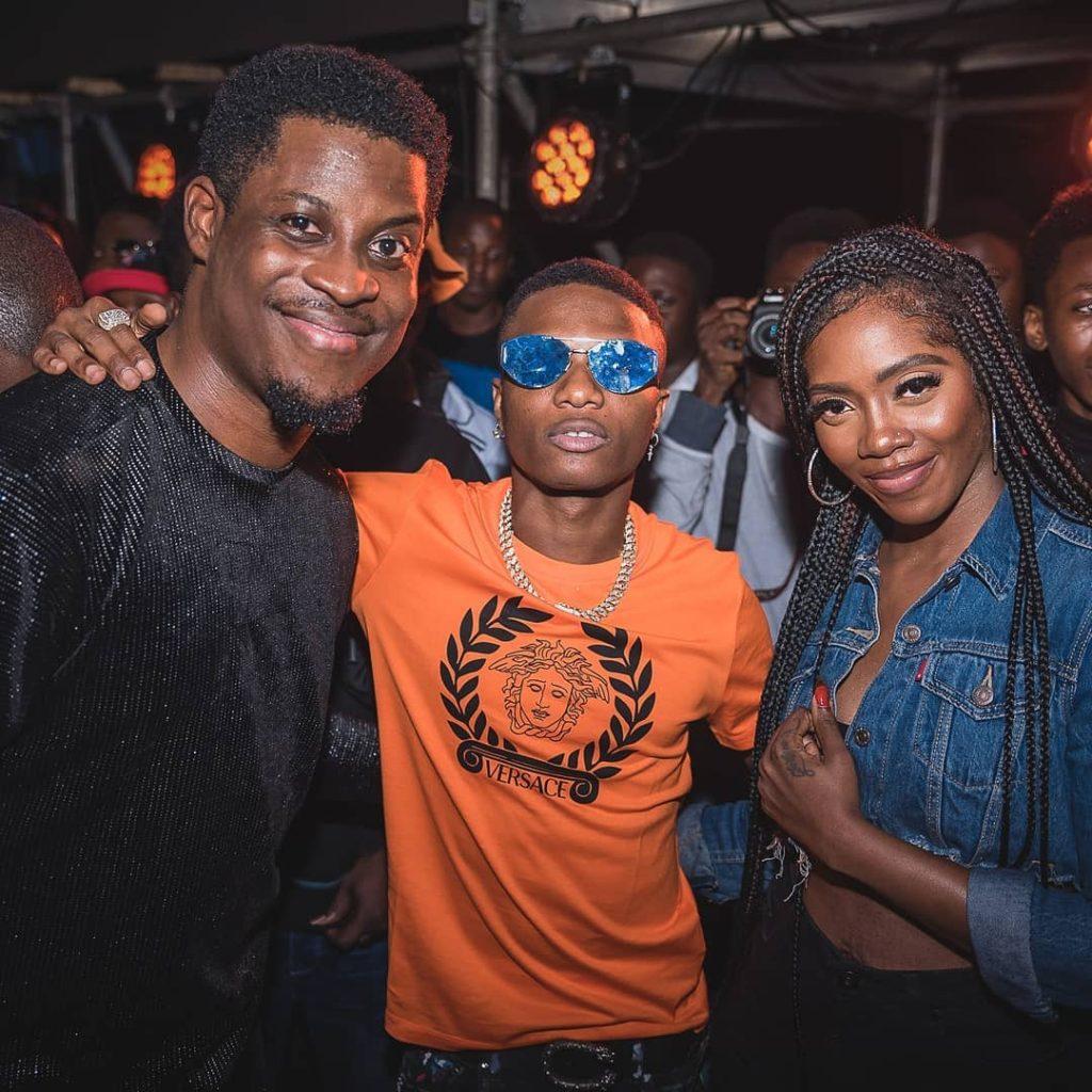 Seyi Awolowo, Wizkid and Tiwa